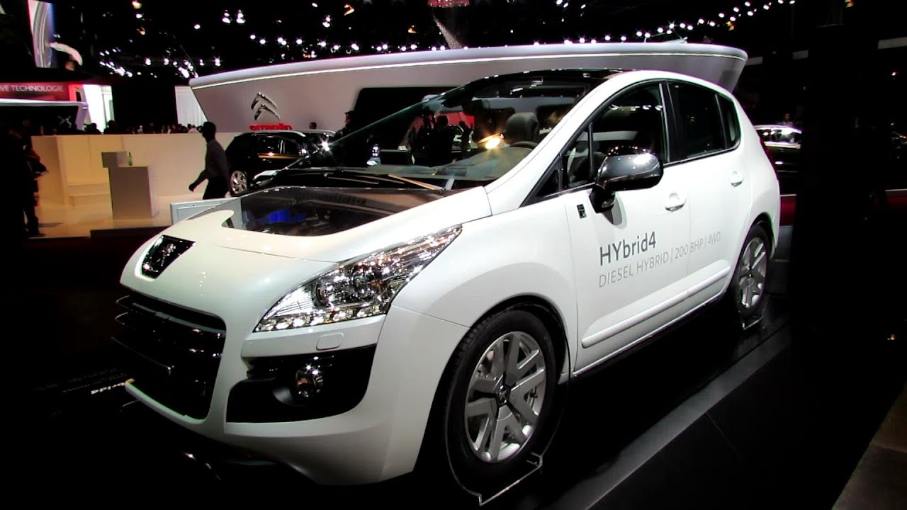 2013 peugeot 3008 hybrid4 exterior and interior walkaround 2012 paris auto show youtube. Black Bedroom Furniture Sets. Home Design Ideas