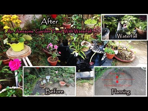 Innovative Gardening: Beautiful Garden Pond Making