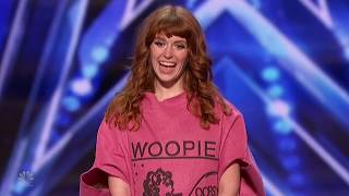 America&#39s Got Talent 2020 Eileen Chase Dancing Whoopie Cushion Full Performance S15E01