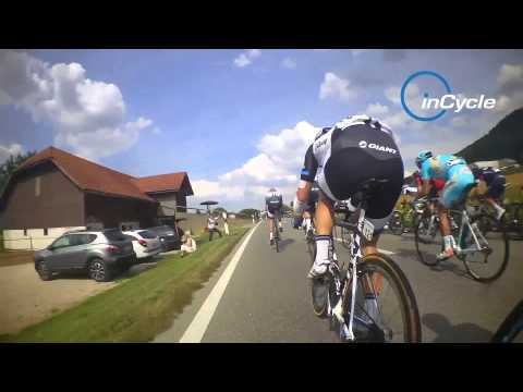 inCycle video: Inside the sprint finish on stage 5 of the Tour de Suisse