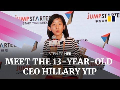 Meet 13-year-old CEO Hillary Yip