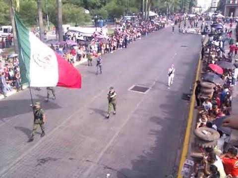 Desfile de la Independencia de Mexico en Monterrey  2017 parte 1