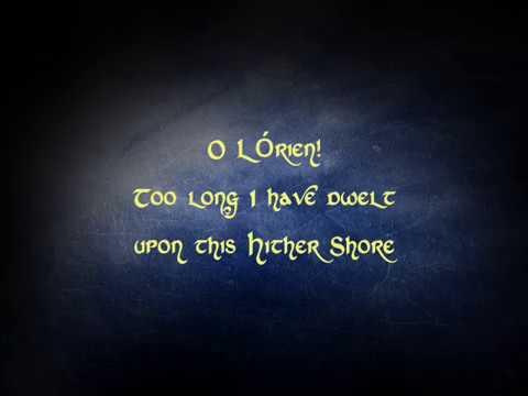 Rivendell - the song of Eldamar (lyrics)