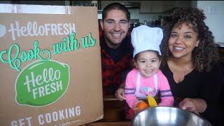 HelloFresh Unboxing Cook With Us