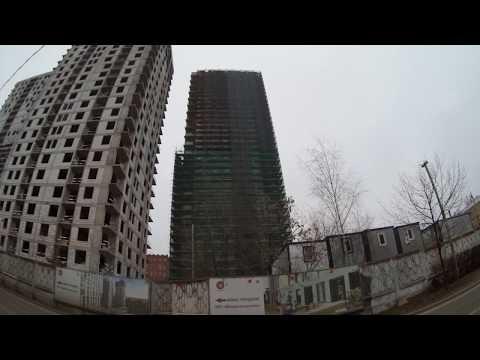 """У """"Фонвизинской"""" строят жилые дома вместо паркинга"""