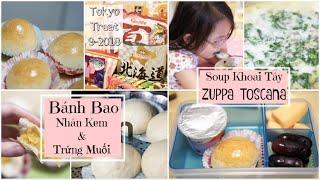 Cuối Tuần Làm Bánh Bao Kim Sa Trứng Muối Béo Ngậy ♥ Soup Khoai Tây Kiểu Ý  | mattalehang