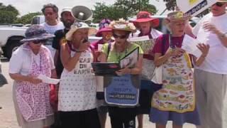 "Video BP Oil Spill Protest Anthem From Raging Grannies: ""Halliburton & BP, You Suck!"" download MP3, 3GP, MP4, WEBM, AVI, FLV Maret 2018"