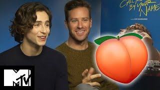 Peach Scene With Armie Hammer & Timothée Chalamet | Call Me By Your Name