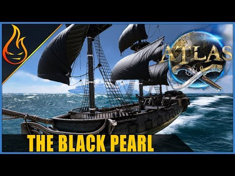 The Black Pearl Ship Build Atlas MMO