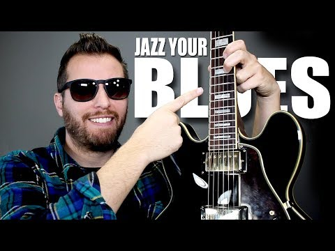 JAZZ Up Your BLUES With One Simple Trick!!