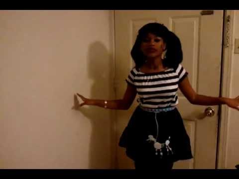 "Nicki minaj super bass music video "" Chayla 12yrs cover ""song"