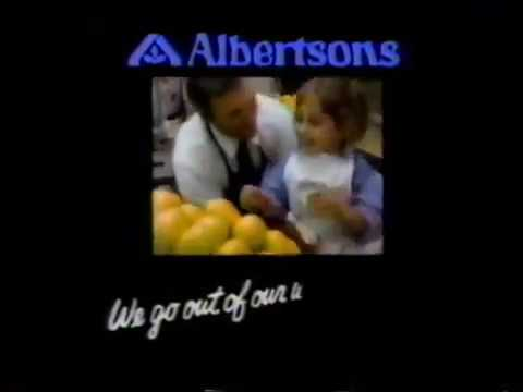 Albertsons Supermarket - TV commercial - 1985