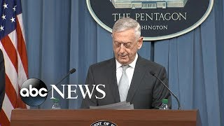 Pentagon officials remark on strikes in Syria
