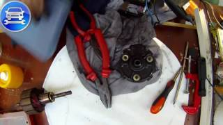 Part 2 Repair HEATER FAN MOTOR   BLOWER MOTOR chrysler voyager   Ремонт вентилятора печки часть 2