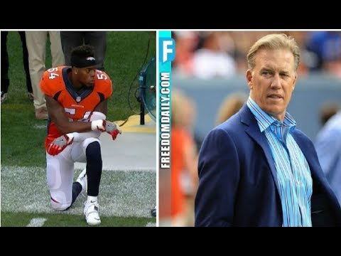 NFL Legend John Elway Just ENDED ALL Racist Player Protests After League Commissioner Refused