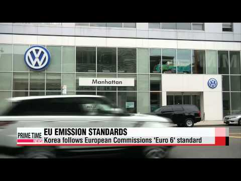 Korea and EU emissions standards   한국 배출가스 기준
