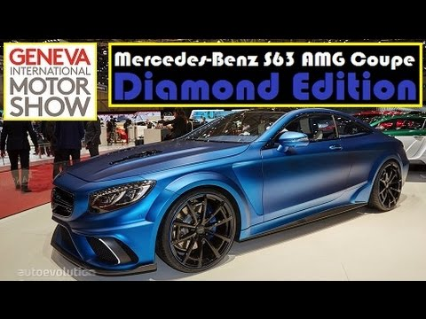 2017 C63 Amg Coupe Price >> Mercedes-Benz S63 AMG Coupe Diamond Edition, live photos at 2015 Geneva Motor Show - YouTube