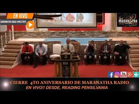 4to Aniversario Maranatha Radio Ministries Pennsylvania 7  Octubre 2019