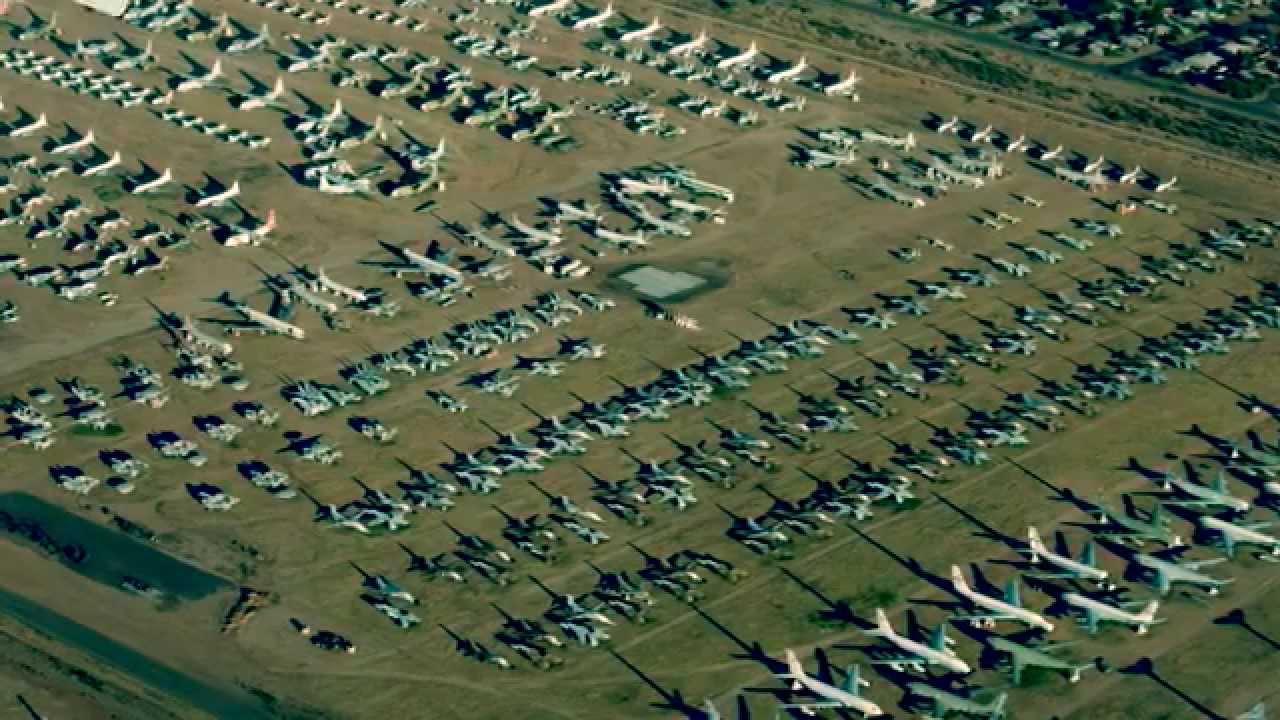 Cimetiere Avion Usa visite exceptionnelle d'un cimetière d'avion - youtube