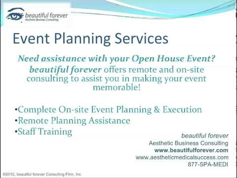 Aesthetic Business - Planning a Successful Event- Part 19 - Event Planning Services