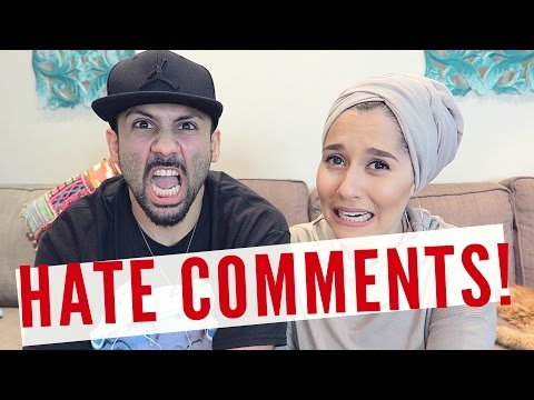 READING HATE COMMENTS!