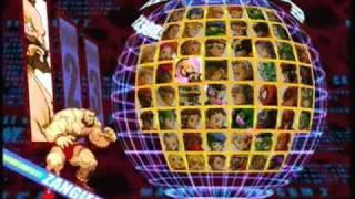Marvel Vs. Capcom 2 All characters select screen