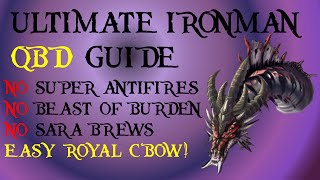 Detailed IronMan & Low Level QBD Guide! No Super AntiFire [RuneScape 2015]