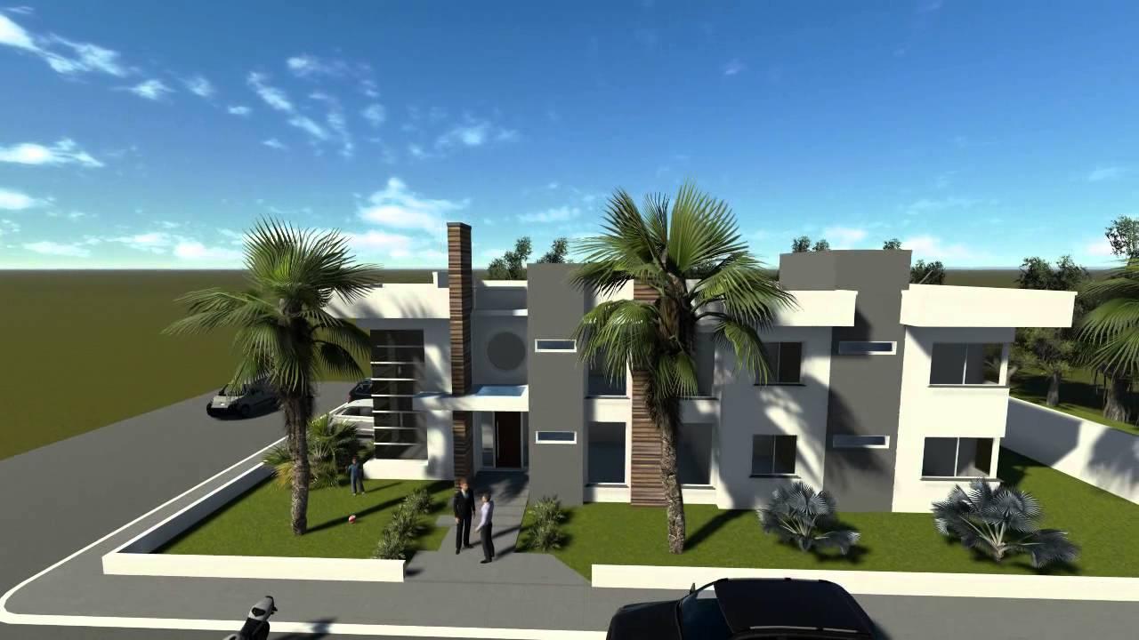 Concevoir Maison Moderne Avec 6 Chambres Code 071 Youtube