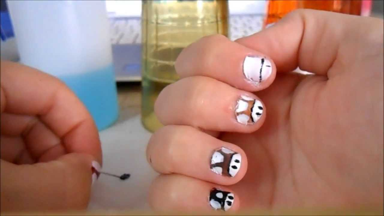 nail art toad pour ongles tr s court youtube. Black Bedroom Furniture Sets. Home Design Ideas