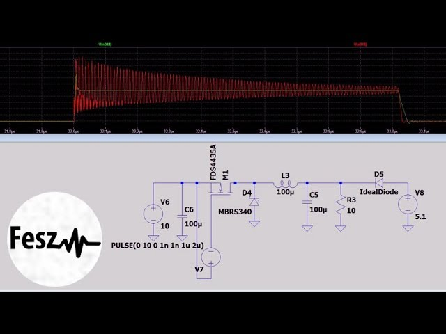 Ltspice Tutorial Smps Emi And Electrical Noise And Filtration Simulations Youtube