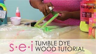 Sei Tumble Dye: Easy Diy Wood Staining Tutorial