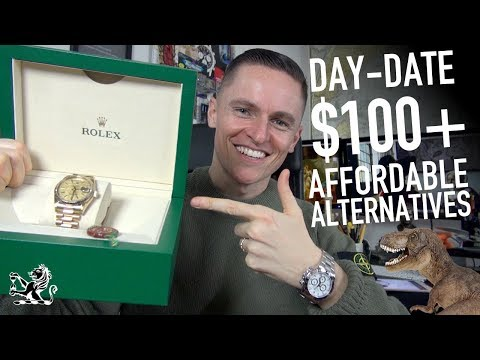 Rolex Day-Date: 7 Affordable Alternatives $100+ & Upgrading To A 18238 - 동영상