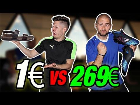 €1 NIKE BOOTS VS €269 TOP ADIDAS BOOTS - ADIDAS migliore di NIKE ??
