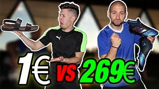 €1 NIKE BOOTS VS €269 TOP ADIDAS BOOTS - ADIDAS migliore di NIKE ??