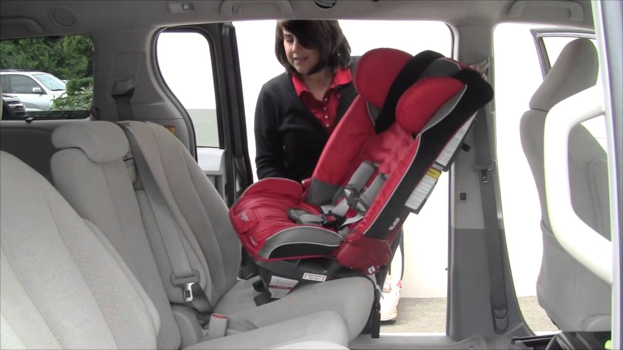 Install a Rear-facing Diono Car Seat with SuperLATCH™ - YouTube