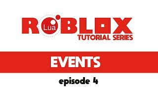 Roblox Game Design: Events (Part 4)