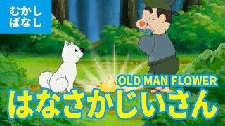 はなさかじいさん - 花咲かじいさん  - はなさか爺(日本語版)アニメ日本の昔ばなし/日本語学習/OLD MAN FLOWER (JAPANESE)