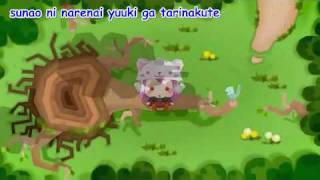【Karaoke】Toeto【off vocal】 Toraboruta-P