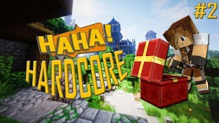 HALYNA, MAM ZAWAŁ! | HAHA-Hardcore #2 | Minecraft Hardcore Mode 1.14.2