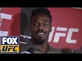 Jon Jones explains his backstage incident with Daniel Cormier | UFC ON FOX