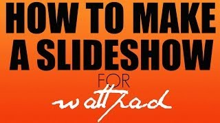how to put multiple pictures to the side of wattpad
