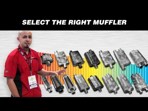 How to Select the Right Flowmaster Muffler for your Vehicle