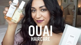 #OuaiAddicated // OUAI HAIRCARE // OUAI PRODUCT REVIEW