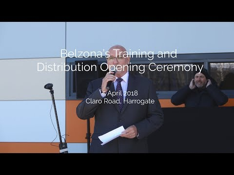 Belzona's Training and Distribution Opening Ceremony - the managing director