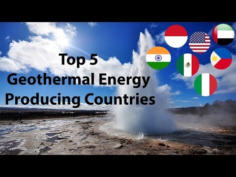 Top 5 Geothermal Energy Producing Countries | 2017