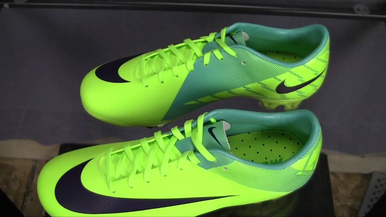 7530e156b05 Nike Mercurial Vapor Superfly III Review (Volt with Retro) - YouTube