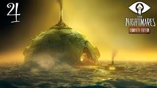 Little Nightmares: Тайны Чрева прохождение на геймпаде часть 4 Гномики-кочегары и мимо сторожа
