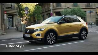 The new Volkswagen T Roc