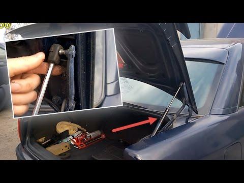 Замена амортизаторов багажника Ауди 100 A6 С4