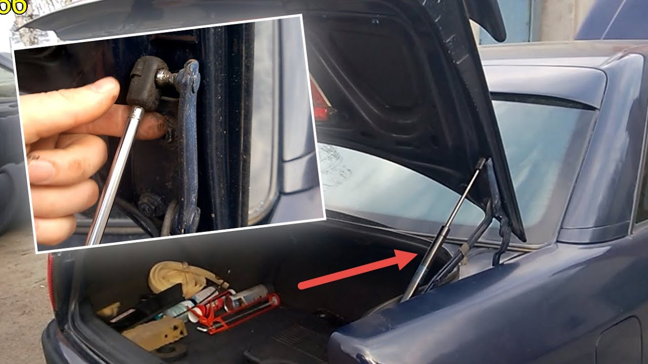 газовый амортизатор капота audi 100 с4 фото